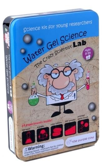 Набор Лаборатория сумасшедшего ученого. Что такое гидрогельПредставляем вашему вниманию набор Лаборатория сумасшедшего ученого. Что такое гидрогель, благодаря которому ребенок узнает много всего интересного.<br>