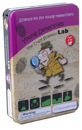 Набор Лаборатория сумасшедшего ученого. Юный детективПредставляем вашему вниманию набор Лаборатория сумасшедшего ученого. Юный детектив, благодаря которому ребенок узнает много всего интересного.<br>