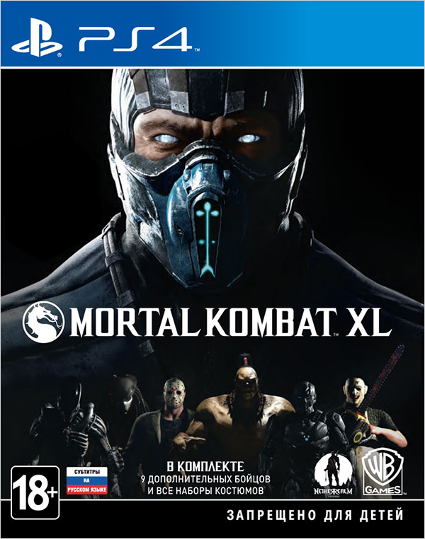 Mortal Kombat XL [PS4] игра для pc wb interactive mortal kombat x
