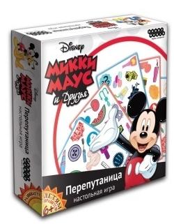 Настольная игра Микки Маус и друзья. ПерепутаницаПредставляем вашему вниманию настольную игру Микки Маус и друзья. Перепутаница, новую быструю настольную игру на скорость и внимательность.<br>