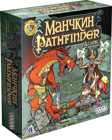 Настольная игра Манчкин Pathfinder ДелюксМанчкин Pathfinder – самостоятельная игра на основе оригинального «Манчкина»: сыграй в неё как есть или смешай с другими наборами.<br>