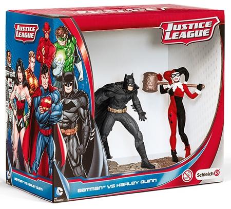 Набор фигурок DC Comics: Бэтмэн и Харли Квин – Лига справедливости – Justice League Batman Vs The Joker 2-Pack арт.  (11 см)Представляем вашему вниманию набор фигурок Justice League. Бэтмэн и Харли Квин, созданный по мотивам популярных комиксов.<br>