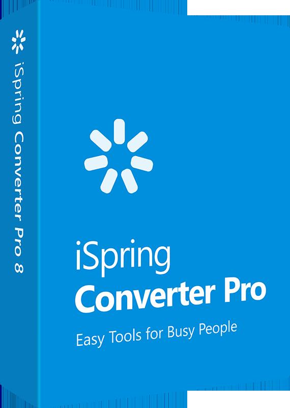 iSpring Converter Pro 8. Программа для создания электронных материалов (Цифровая версия)Программа iSpring Converter Pro – это быстрый инструмент для конвертирования презентаций в онлайн-форматы на базе PowerPoint.<br>