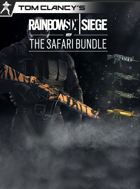 Tom Clancy's Rainbow Six: Осада. The Safari Bundle. Дополнительные материалы