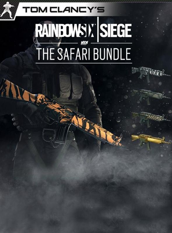 Tom Clancy's Rainbow Six: Осада. The Safari Bundle. Дополнительные материалы [PC, Цифровая версия] (Цифровая версия)