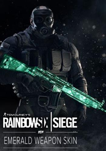 Tom Clancy's Rainbow Six: Осада. Emerald Weapon Skin. Дополнительные материалы [PC, Цифровая версия] (Цифровая версия) majesty 2 вызов змея заклинания экшены дополнительные материалы цифровая версия