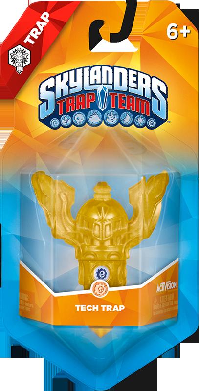 Skylanders Trap Team. Ловушка (стихия Tech)Станьте еще более непобедимым в игре Skylanders Trap Team c ловушкой – стихия Tech!<br>