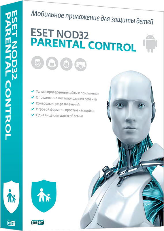 ESET NOD32 Parental Control (Лицензия на 1 год) eset nod32 антивирус platinum edition 3 пк 2 года