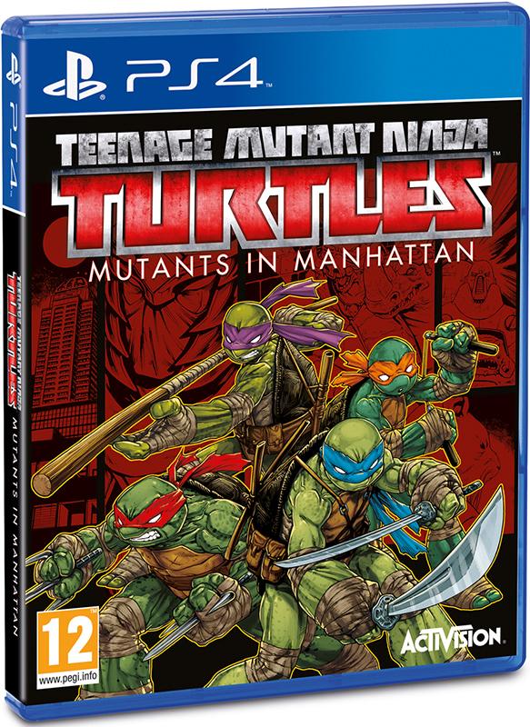 Teenage Mutant Ninja Turtles. Mutants in Manhattan[PS4]