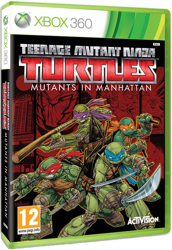 Teenage Mutant Ninja Turtles. Mutants in Manhattan[Xbox360]В преддверии премьеры фильма Черепашки -ниндзя 2, японская студия PlatinumGames, выпустившая ранее Bayonetta и Bayonetta 2, представляет новую игру Teenage Mutant Ninja Turtles: Mutants in Manhattan, которая может порадовать как поклонников Черепашек Ниндзя, так и просто любителей динамичных игр.<br>