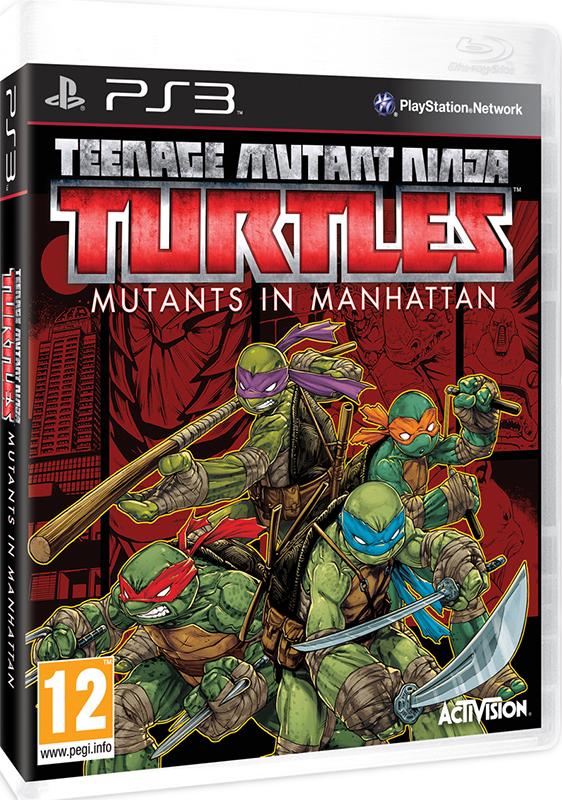 Teenage Mutant Ninja Turtles. Mutants in Manhattan[PS3]
