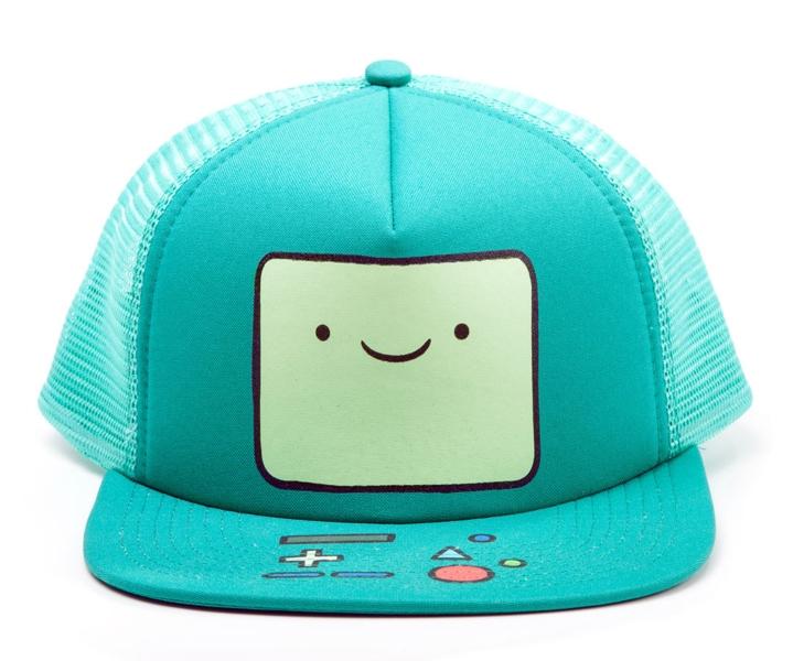 Бейсболка Adventure Time. BMO (с сеткой)Представляем вашему вниманию бейсболку Adventure Time. BMO (с сеткой), созданную по мотивам одного из самых популярных мультсериалов Adventure Time (Время Приключений с Финном и Джейком).<br>