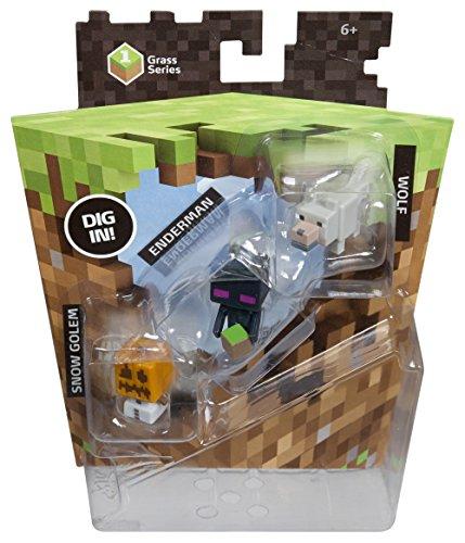 Набор фигурок Minecraft. Series 1. Wolf, Enderman &amp; Snow Golem. 3 в 1Представляем вашему вниманию набор фигурок Minecraft. Series 1. Wolf, Enderman &amp;amp; Snow Golem. 3 в 1, созданный по мотивам компьютерной игры с видом от первого лица Minecraft.<br>