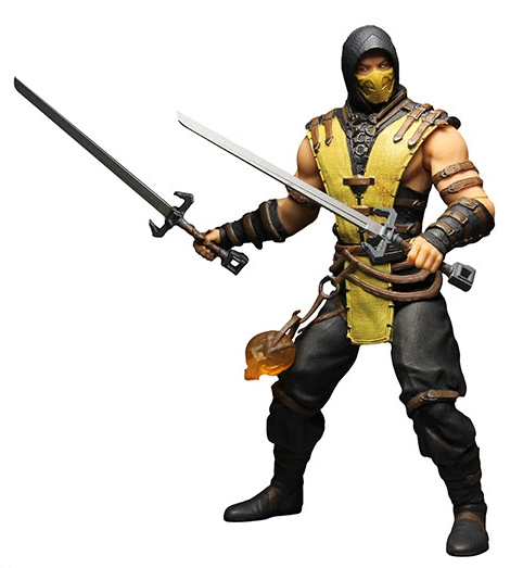 Фигурка Mortal Kombat X. Scorpion (30 см) a2dp universal wireless bluetooth headphons stereo headset handsfree with mic earphone for samsung lg iphone htc moto zte tablet