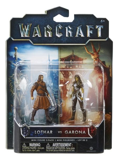 Набор фигурок Warcraft. Garona &amp; Lothar. 2 в 1 (7 см)Набор фигурок Warcraft. Garona &amp;amp; Lothar. 2 в 1 будет по достоинству оценен поклонниками и коллекционерами. Линейка товаров приурочена к премьере громкого летнего блокбастера от режиссера Дункана Джонса «Варкрафт».<br>