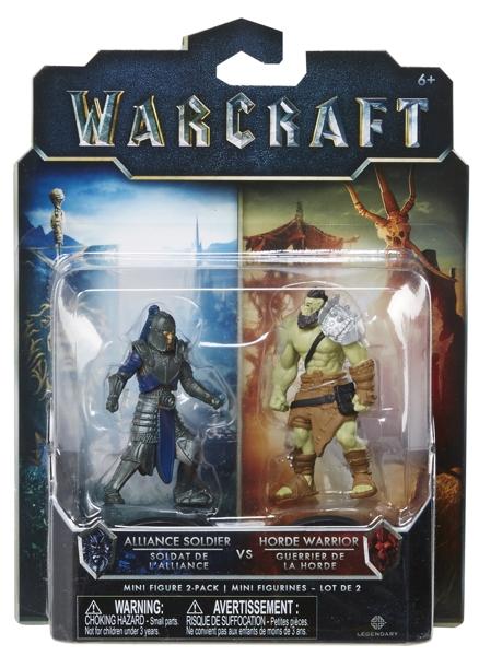 Набор фигурок Warcraft. Horde Warrior & Alliance Soldier. 2 в 1 (7 см) футболка print bar horde