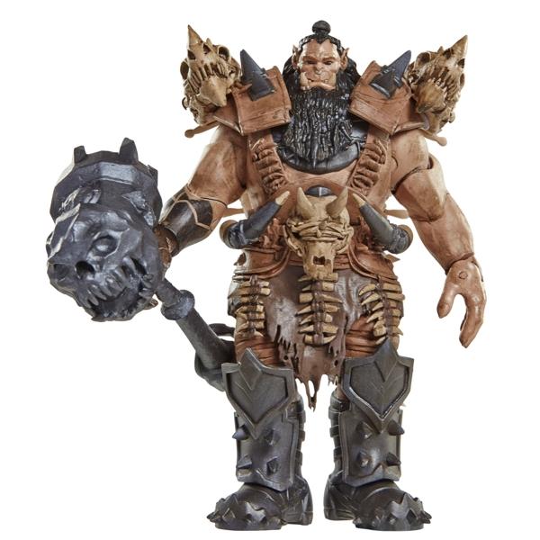 Фигурка Warcraft. Blackhand (16 см)Высокодетализированная фигурки Warcraft. Blackhand будет по достоинству оценена поклонниками и коллекционерами. Линейка товаров приурочена к премьере громкого летнего блокбастера от режиссера Дункана Джонса «Варкрафт».<br>