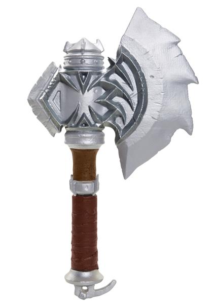 Копия оружия Warcraft. Axe Of Durotan (30 см)Копия оружия Warcraft. Axe Of Durotan будет по достоинству оценена поклонниками и коллекционерами. Линейка товаров приурочена к премьере громкого летнего блокбастера от режиссера Дункана Джонса «Варкрафт».<br>