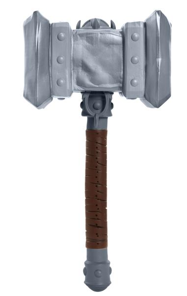 Копия оружия Warcraft. Doomhammer (30 см)Копия оружия Warcraft. Doomhammer будет по достоинству оценена поклонниками и коллекционерами. Линейка товаров приурочена к премьере громкого летнего блокбастера от режиссера Дункана Джонса «Варкрафт».<br>