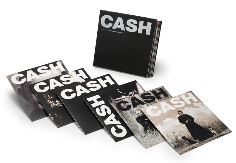 Johnny Cash. American Recordings I–VI (7 LP) джонни кэш cash johnny 8 classic albums 4cd