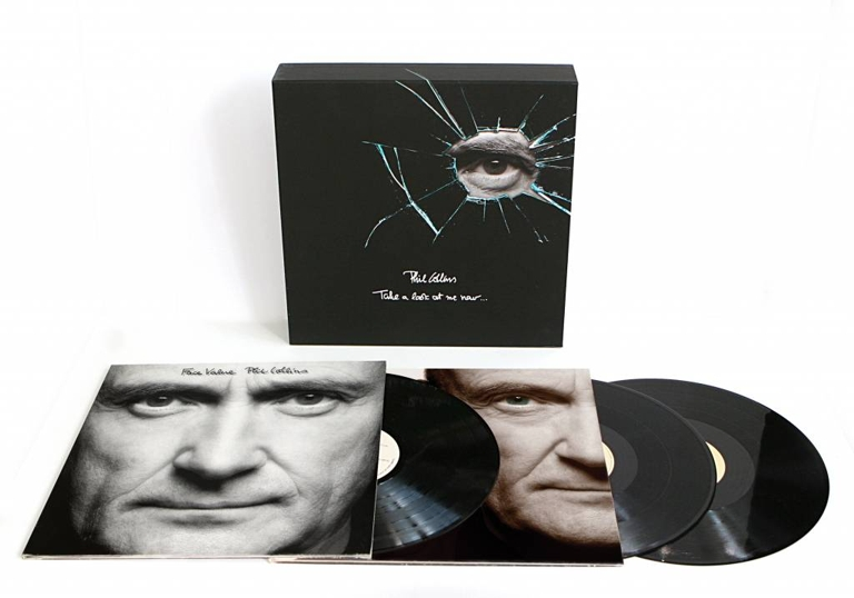Phil Collins. Take A Look At Me Now... (3 LP) phil collins the singles 2 cd
