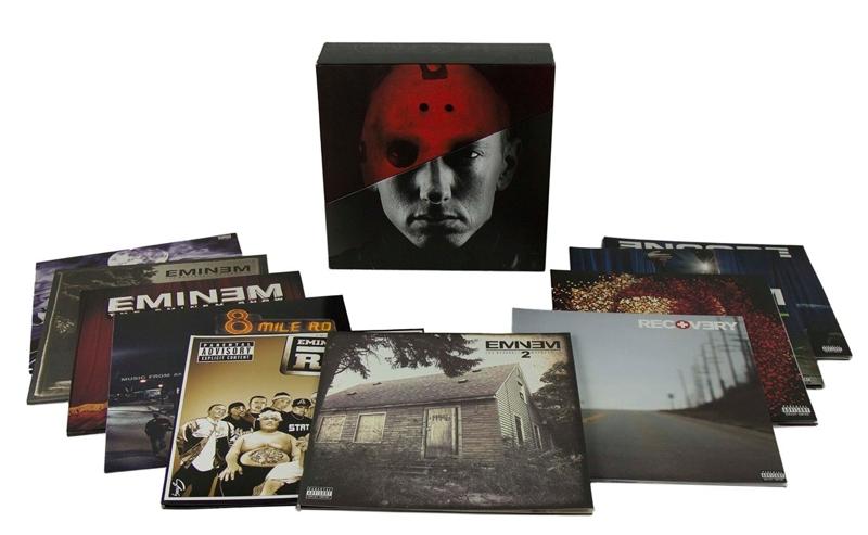 Eminem. Eminem (20 LP)Представляем вашему вниманию издание Eminem. Eminem, в котором собраны все альбомы американского рэпера Эминема.<br>