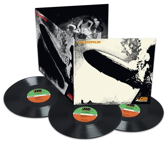 Led Zeppelin. Led Zeppelin. Original Recording Remastered (3&amp;nbsp;LP)Представляем вашему вниманию издание Led Zeppelin. Led Zeppelin. Original Recording Remastered, дебютный студийный альбом британской рок-группы Led Zeppelin.<br>