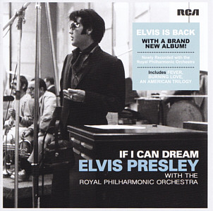 Elvis Presley. If I Can Dream. With The Royal Philharmonic Orchestra