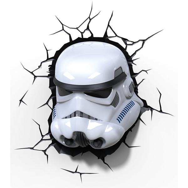 3D светильник Star Wars. Stormtrooper (Штормтрупер)Представляем вашему вниманию 3D светильник Star Wars. Stormtrooper (Штормтрупер), созданный по мотивам саги о Звездных Войнах.<br>