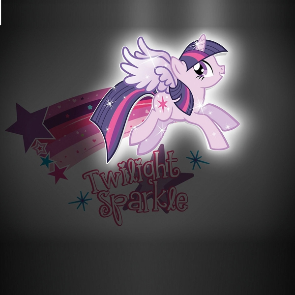 3D светильник My Little Pony. Twilight Sparkle