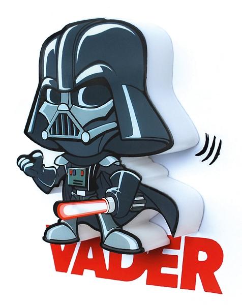 3D мини-светильник Star Wars. Darth Vader (Дарт Вейдер)Представляем вашему вниманию 3D мини-светильник Star Wars. Darth Vader (Дарт Вейдер), созданный по мотивам саги о Звездных Войнах.<br>