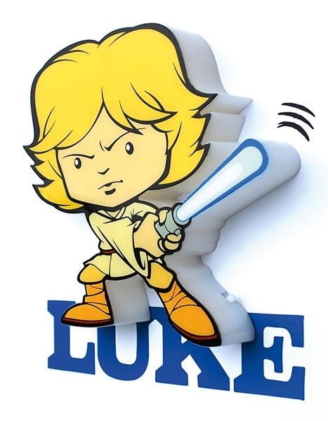 3D мини-светильник Star Wars. Luke Skywalker (Люк Скайуокер)Представляем вашему вниманию 3D мини-светильник Star Wars. Luke Skywalker (Люк Скайуокер), созданный по мотивам саги о Звездных Войнах.<br>
