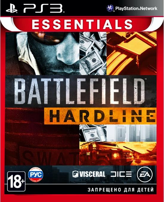 Battlefield Hardline (Essentials) [PS3]Battlefield Hardline &amp;ndash; это экшн-игра от первого лица, в которой разворачиваются борьба с преступностью и противостояние между полицейскими и бандитами.<br>