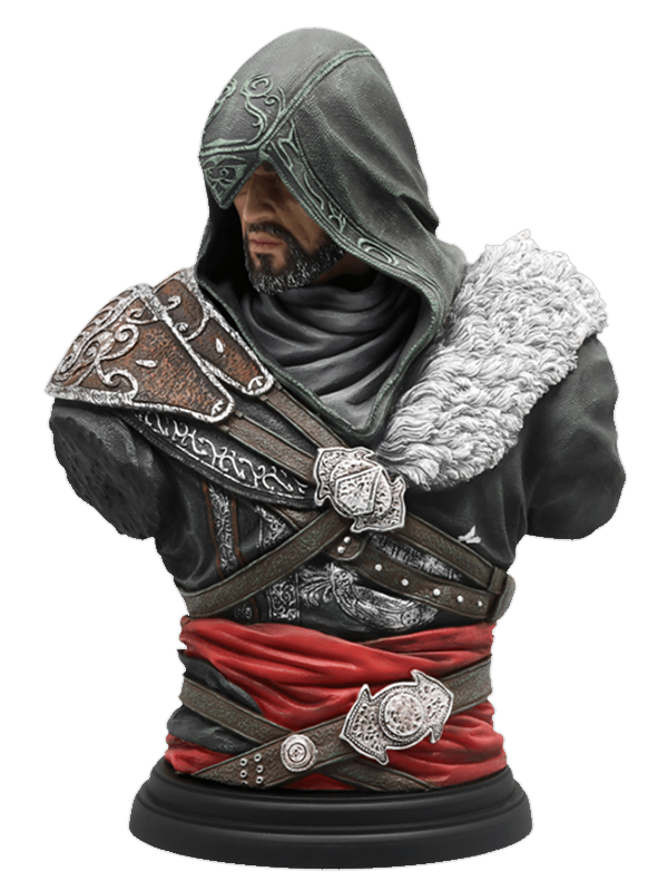 Бюст Assassins Creed. Ezio Mentor Legacy Collection (19 см)&amp;lt;p&amp;gt;Ubicollectibles представляет новинку: фигурку Эцио Аудиторе в облике мастера-ассасина. Именно таким он предстает в игре Assassin's Creed: Откровения. &amp;lt;strong&amp;gt;Бюст Assassin&amp;#39;s Creed. Ezio Mentor Legacy Collection&amp;lt;/strong&amp;gt; продолжает классическую коллекцию самых выдающихся персонажей Assassin&amp;#39;s Creed.&amp;lt;/p&amp;gt;<br>