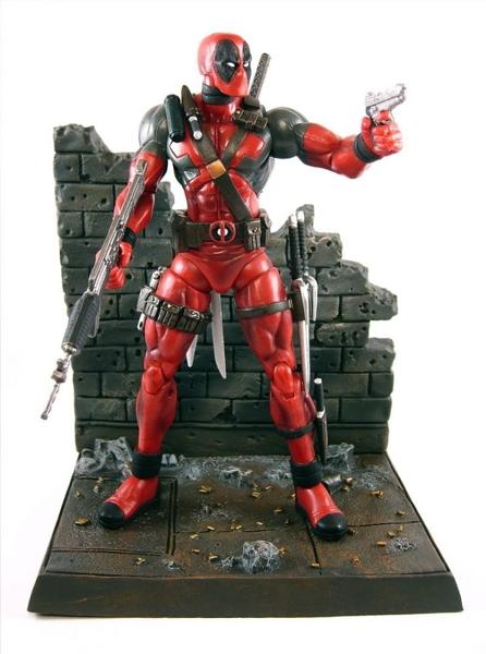 Фигурка Deadpool. Marvel Select (20 см)Представляем вашему вниманию фигурку Deadpool. Marvel Select, созданную по мотивам популярного комикса вселенной Marvel.<br>