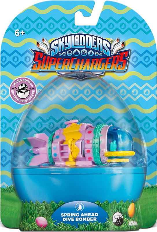 цена на Skylanders SuperChargers. Интерактивная фигурка. Машины. Spring Ahead Dive Bomber (стихия Water)