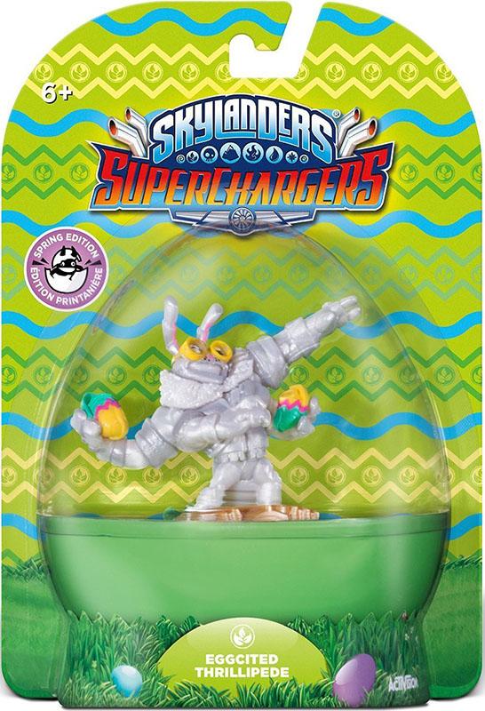 все цены на  Skylanders SuperChargers. Интерактивная фигурка. Суперзаряд. Eggcited Thrillipede (стихия Life)  онлайн