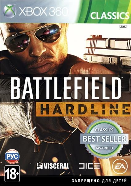 Battlefield Hardline (Classics) [Xbox 360]Battlefield Hardline &amp;ndash; это экшн-игра от первого лица, в которой разворачиваются борьба с преступностью и противостояние между полицейскими и бандитами.<br>