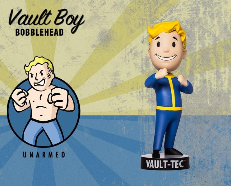 Фигурка Fallout 4. Vault Boy. 111 Bobbleheads. Series Two. Unarmed (13 см)Представляем вашему вниманию фигурку Fallout 4. Vault Boy. 111 Bobbleheads. Series Two. Unarmed, созданную по мотивам компьютерной игры Fallout и выпущенную по случаю выхода новой части серии игры в жанре Action/RPG!<br>