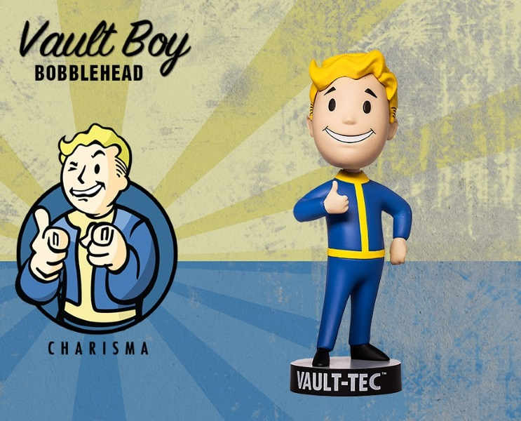 Фигурка Fallout 4. Vault Boy. 111 Bobbleheads. Series Two. Charisma (13 см)Представляем вашему вниманию фигурку Fallout 4. Vault Boy. 111 Bobbleheads. Series Two. Charisma, созданную по мотивам компьютерной игры Fallout и выпущенную по случаю выхода новой части серии игры в жанре Action/RPG!<br>