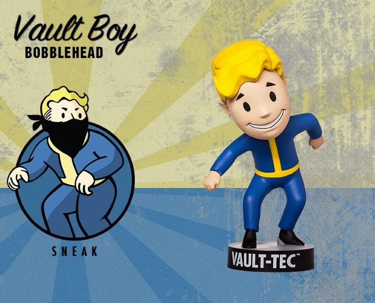 Фигурка Fallout 4. Vault Boy. 111 Bobbleheads. Series Two. Sneak (13 см)Представляем вашему вниманию фигурку Fallout 4. Vault Boy. 111 Bobbleheads. Series Two. Sneak, созданную по мотивам компьютерной игры Fallout и выпущенную по случаю выхода новой части серии игры в жанре Action/RPG!<br>