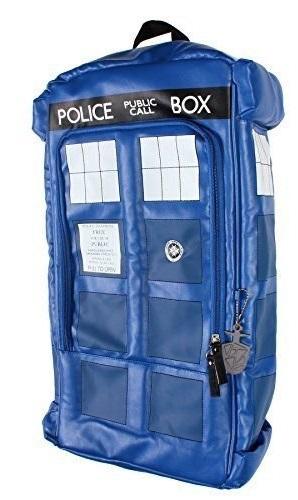 Рюкзак Doctor Who. Tardis (искусственная кожа)Представляем вашему вниманию рюкзак Doctor Who. Tardis, созданный по мотивам культового британского научно-фантастического телесериала «Доктор Кто».<br>