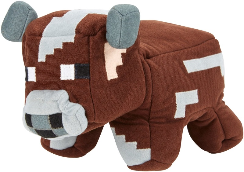 Мягкая игрушка Minecraft. Cow-To-Raw (25 см)Представляем вашему вниманию мягкую игрушку Minecraft. Cow-To-Raw, которая создана по популярной франшизе Minecraft.<br>