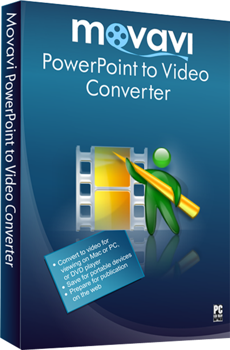 Movavi Конвертер PowerPoint в видео 2. Персональная лицензия (Цифровая версия)Конвертируйте презентации в популярные видеоформаты с Movavi Конвертер PowerPoint в видео 2.<br>