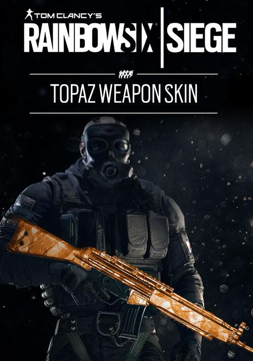 Tom Clancy's Rainbow Six: Осада. Topaz Weapon Skin. Дополнительные материалы [PC, Цифровая версия] (Цифровая версия)