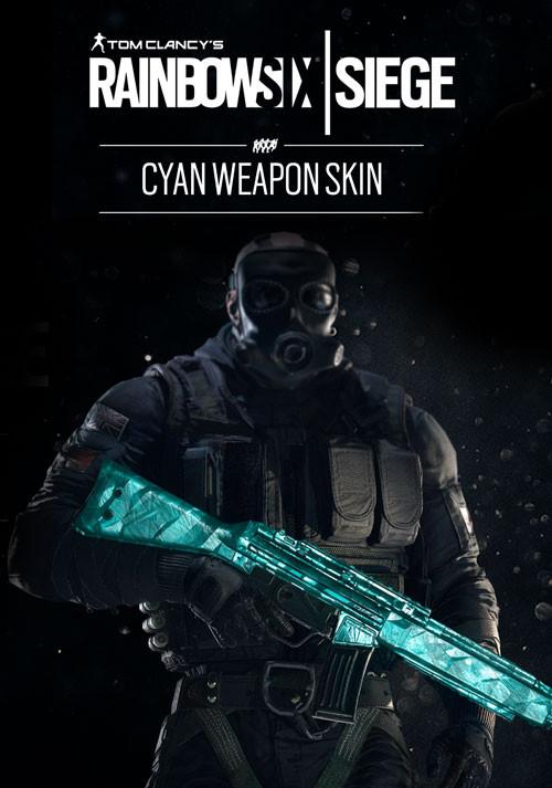 Tom Clancy's Rainbow Six: Осада. Cyan Weapon Skin. Дополнительные материалы [PC, Цифровая версия] (Цифровая версия) tom clancy s rainbow six осада gold edition year 2 цифровая версия