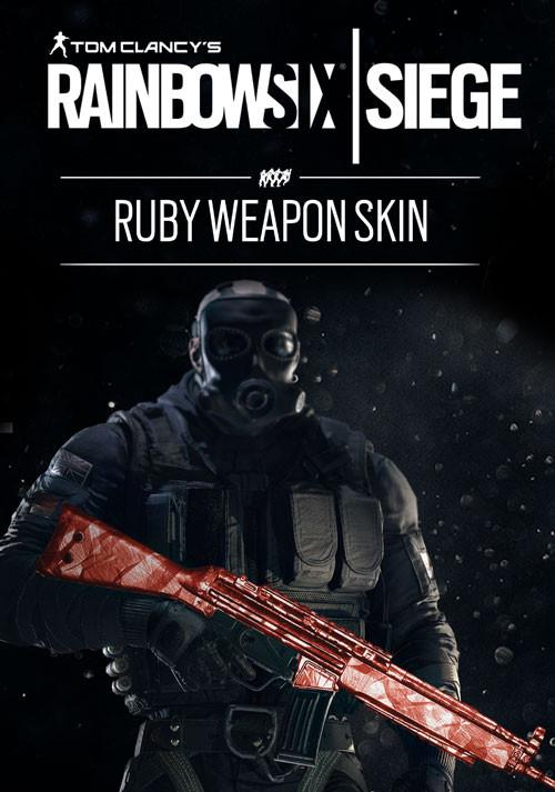 Tom Clancy's Rainbow Six: Осада. Ruby Weapon Skin. Дополнительные материалы [PC, Цифровая версия] (Цифровая версия) tom clancy s rainbow six осада gold edition year 2 цифровая версия