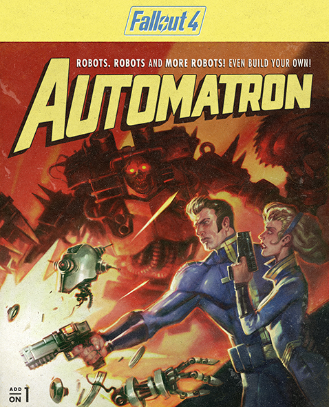 Fallout 4. Automatron. Дополнение [PC, Цифровая версия] (Цифровая версия) fallout 4 game of the year edition [xbox one]
