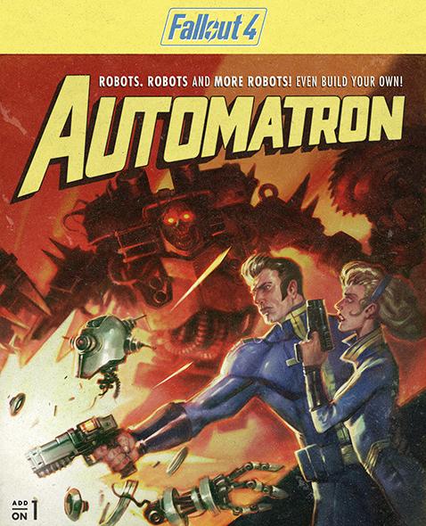 Fallout 4. Automatron. Дополнение