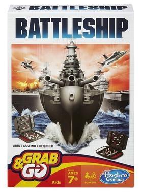 Настольная игра Морской бой. Дорожная
